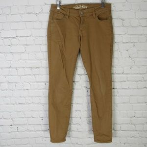 Old Navy Jeans Pants Womens 8 Brown Rock Star